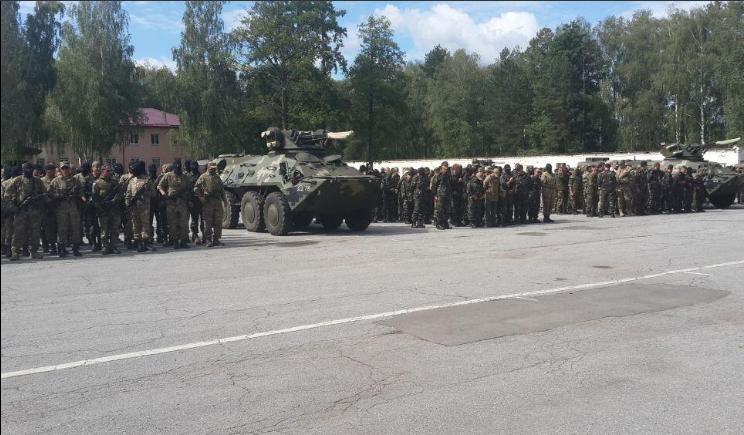 """Батальон """"Донбасс"""" торжественно присягнул на верность украинскому народу"""
