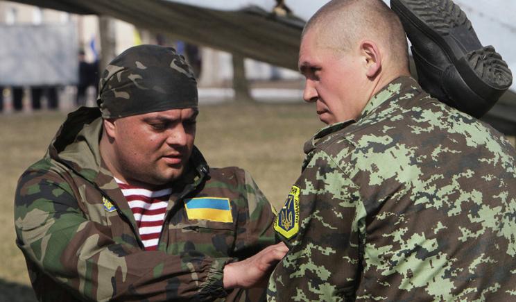 В Нацгвардии сообщили, что их бойцы не избивали активистов в Харькове