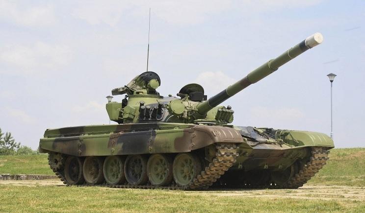 На вооружении террористов появились российские танки