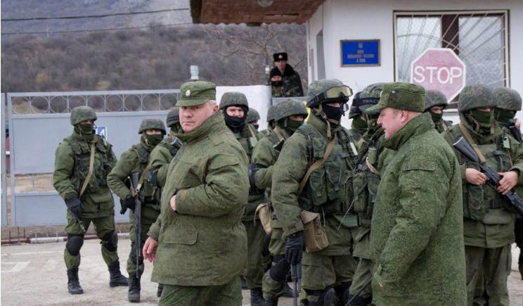 Россия ремонтирует военные части в аннексированном Крыму