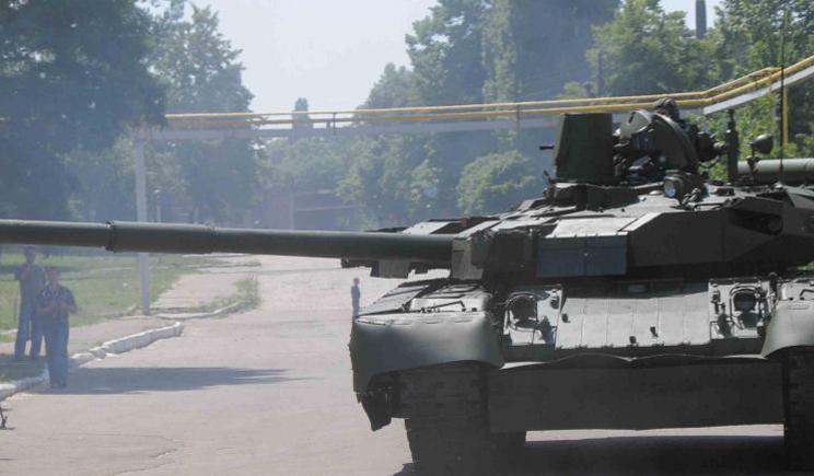 Боевики штурмуют аэродром в Краматорске