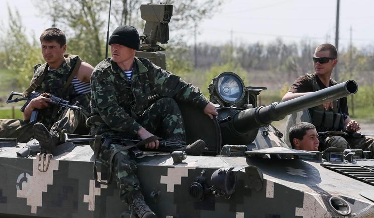 В результате боев под Ямполем погибло 4 военнослужащих ВСУ. Со стороны террористов потери составляют 200 человек