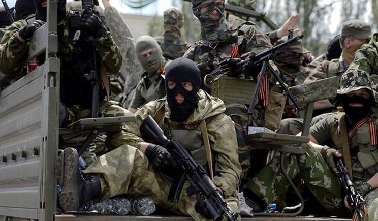Боевики обстреляли позицию украинских военных на Карачуне