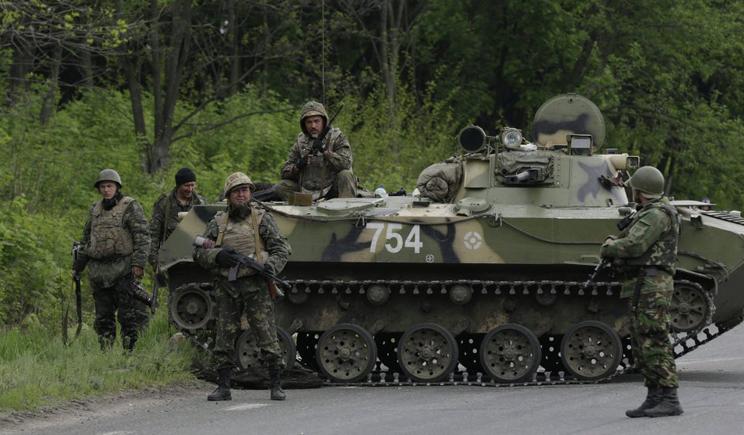 В районе Красного Лимана  украинские силовики перешли к активным действиям