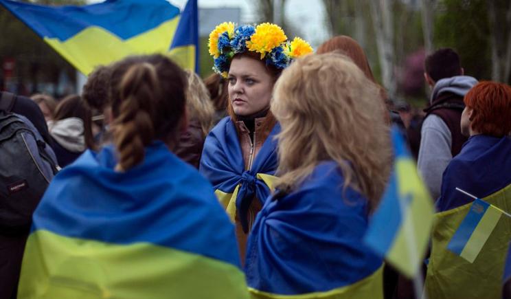 В Харькове милиция побила проукраинских активистов