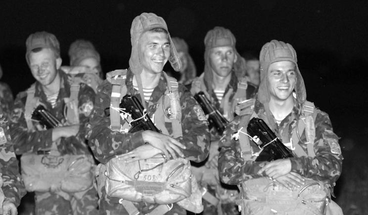 Героический поступок украинских десантников
