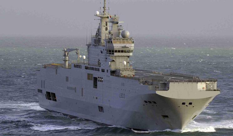 Военные моряки РФ прибыли в Францию, для обучения
