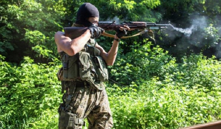 В Семеновке террористы утроили огневую точку на водонапорной станции