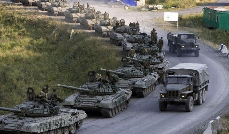 РФ стягивает свои войска к границе с Украиной – госпогранслужба