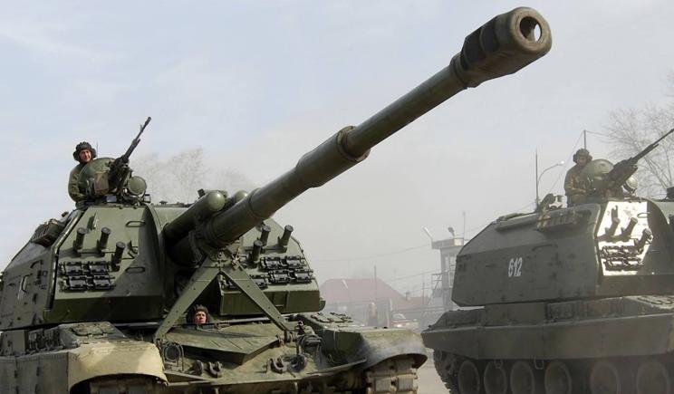 Террористы обстреляли позиции украинских военных с артиллерии