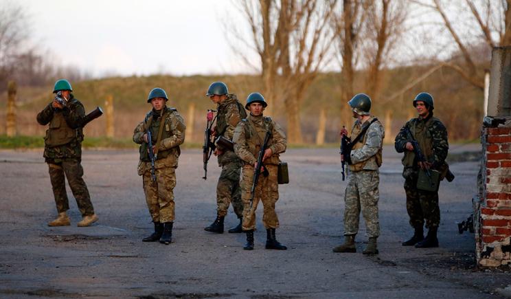 Гвардейцы базирующиеся в Донецке прорвали баррикады боевиков