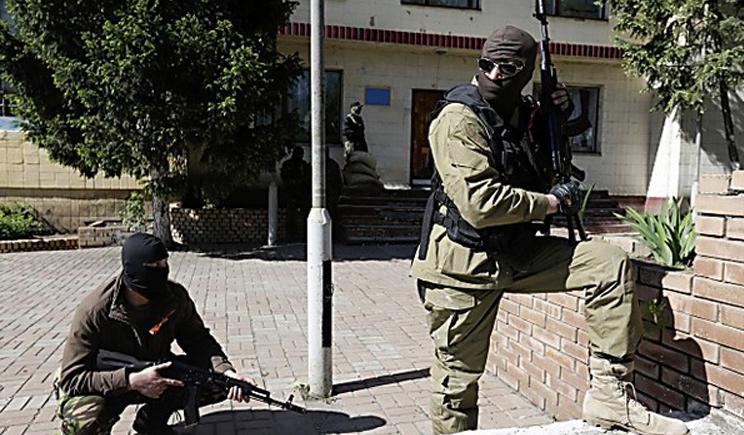 В Донецке без единого выстрела сдана еще одна воинская часть (ВИДЕО)
