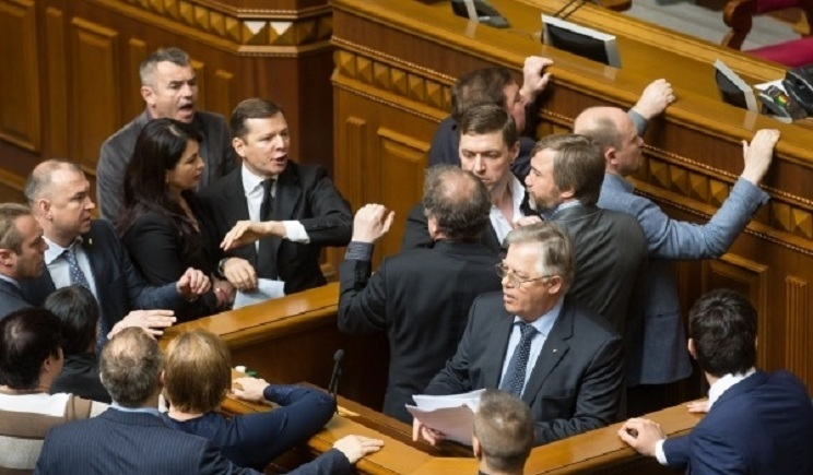 Ляшко пригрозил Симоненко и Ефремову расстрелом под стенами Верховной рады (ВИДЕО)