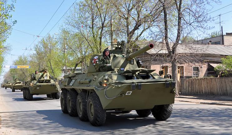 Россия поставляет террористам бронетехнику (ВИДЕО)