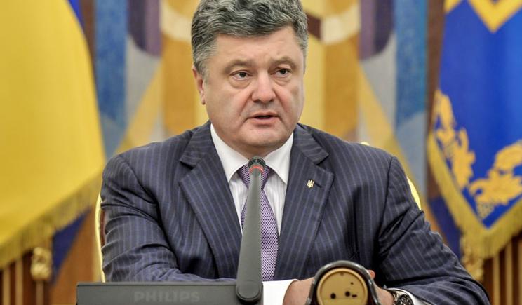 Порошенко провел напряженное заседание с участием силовиков.