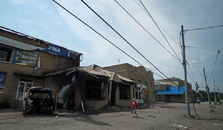 В Донецкой области террористы взорвали мост