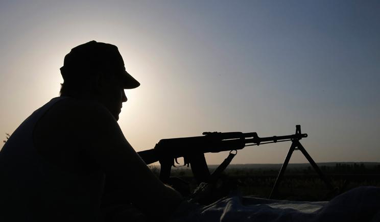 Только за ночь 22 июня, террористы 11 раз обстреливали позиций украинских войск