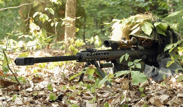 Украинский снайпер в одиночку держал колонну террористов 6 часов