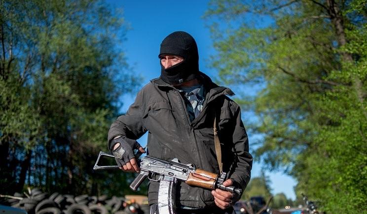 Луганчане восстали против сепаратистов (ВИДЕО)