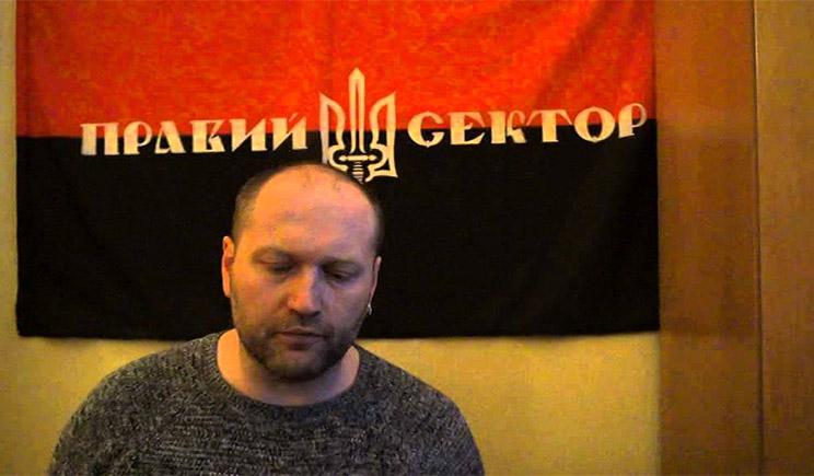 «Мне безразлична гибель оператора ОРТ в Украине», – пресс-секретарь Правого сектора