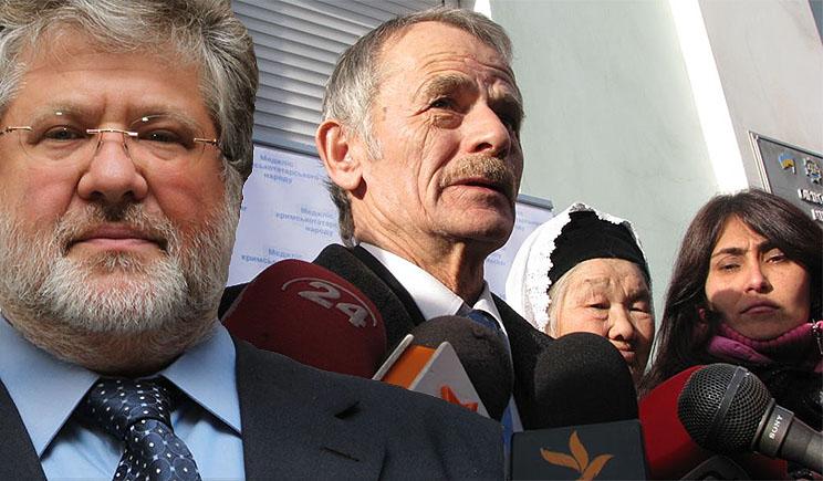 Коломойский и Джемилев подписали меморандум о сотрудничестве