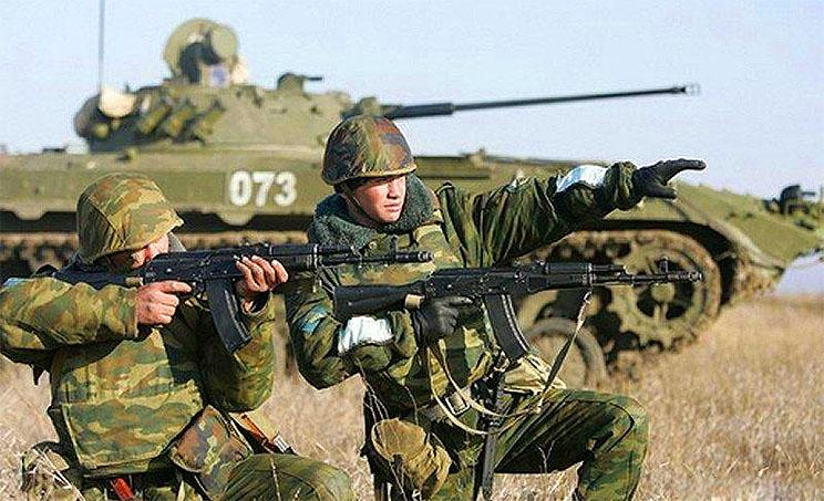 Российская армия готовится отлавливать «заблудившихся» украинских солдат