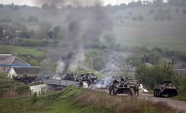 У российско-украинской границы идут бои