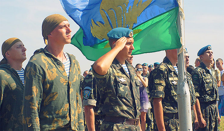 Российские СМИ называют Украинских десантников дезертирами и пацифистами