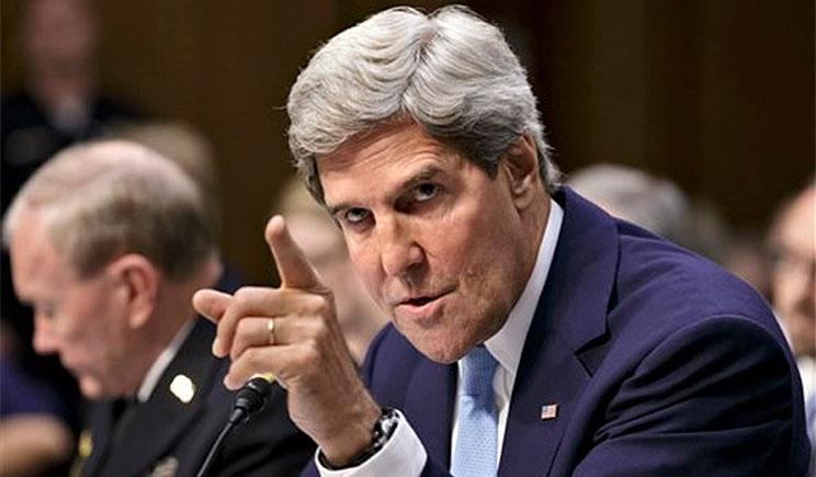 Госсекретарь Керри призвал Путина к конкретным действиям