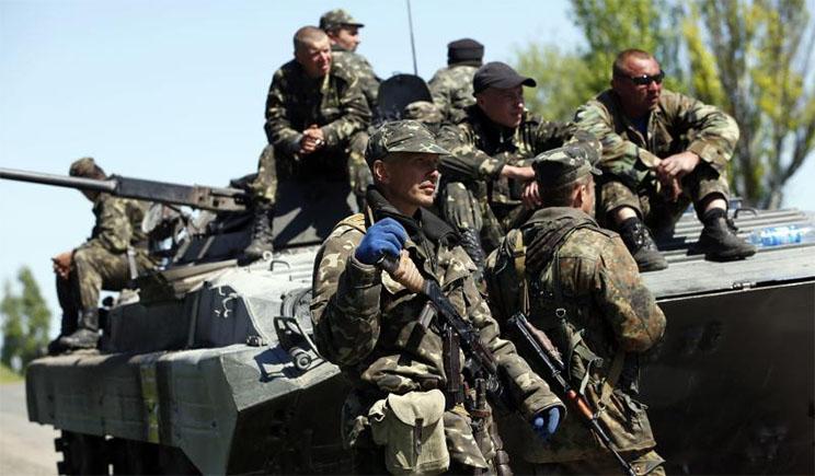 Начался штурм воинской части Нацгвардии в Донецке