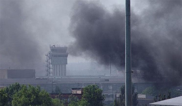 Пять раненых террористов – итоги первой атаки на Нацгвардейцев в Донецке