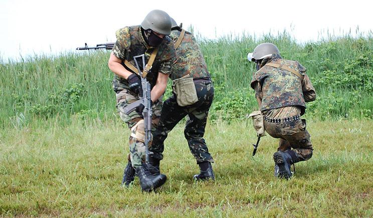 Батальон «Каховка » на грани бунта