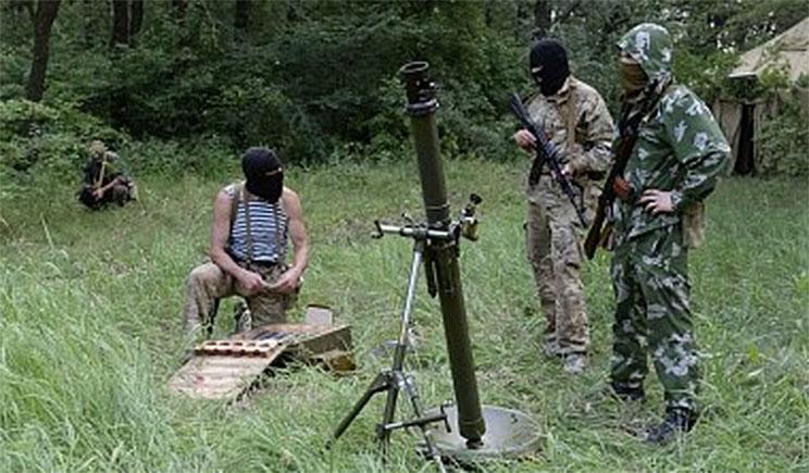 Террористами обстрелян очередной опорный пункт АТО в Донецкой области
