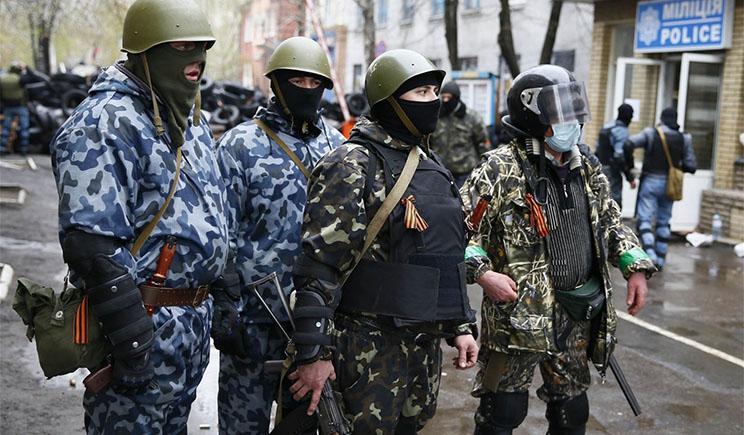 «Народная армия Донбасса» захватила воинскую часть в Донецке