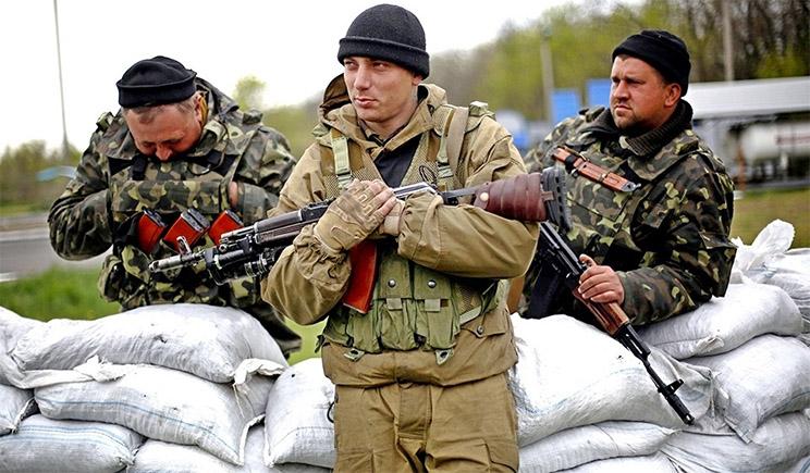 """""""Ополченцы"""" ДНР заявили, что украинская армия вновь применила химоружие"""