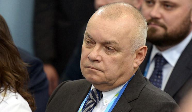 Украина душит «правду» Киселева, – МИД России