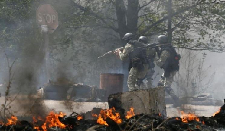 Силовики уничтожили базу террористов под Луганском