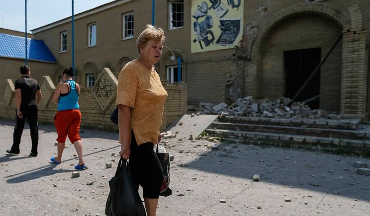 Ярые сторонники ДНР бегут спасаться в Украину (ВИДЕО)