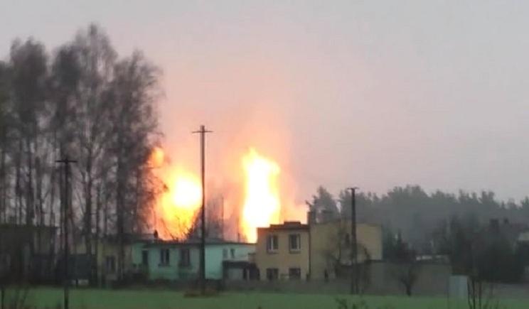 МВД рассматривает взрыв на газопроводе в Полтавской области как теракт