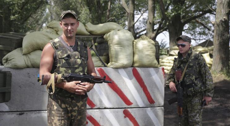 «Мамин платок» спас бойца от осколка под Славянском (ВИДЕО)