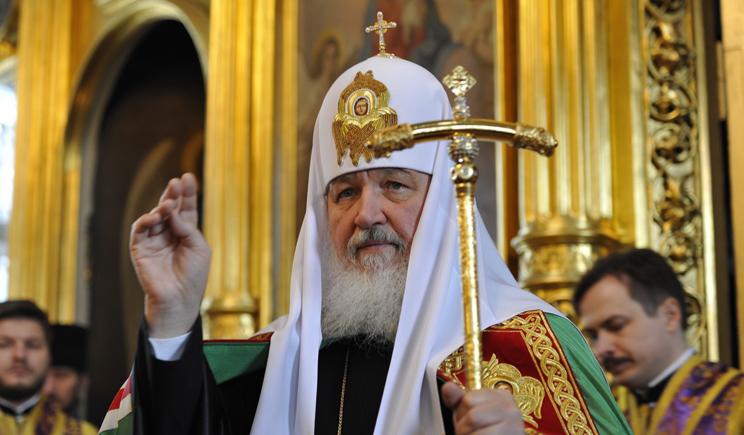 Патриарх РПЦ Кирил  считает, что Россия отвоевывает свои земли