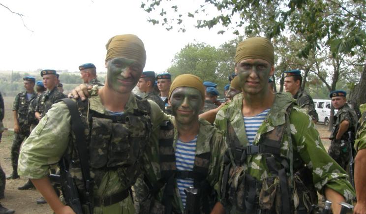 Памяти героев 25 Днепропетровской бригады ВДВ (ФОТО)