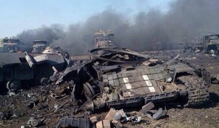 В правительстве России не скрывают, что огонь с установок «Град» велся с территории РФ