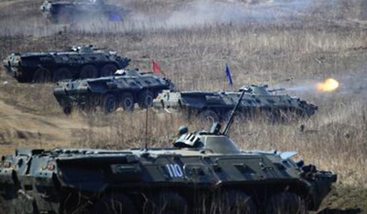 Украинская армия наступает на Луганск