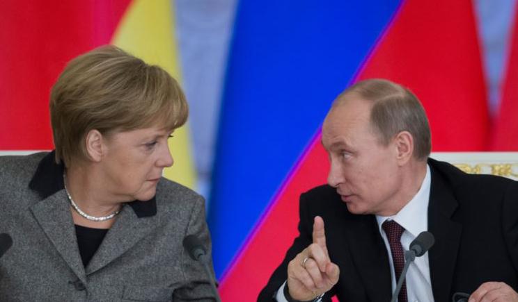 Путин сказал, что наступательная операция украинской армии на востоке есть неприемлемой