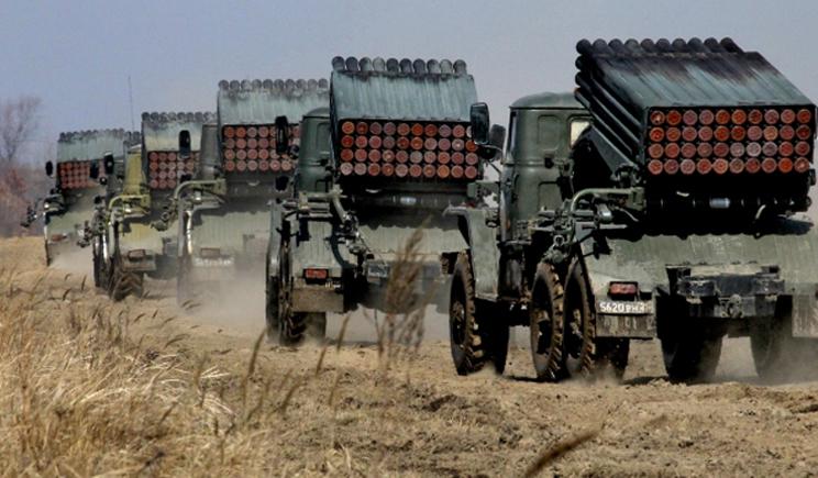 Украинская артиллерия уничтожила укрепление террористов под Снежным (ВИДЕО)