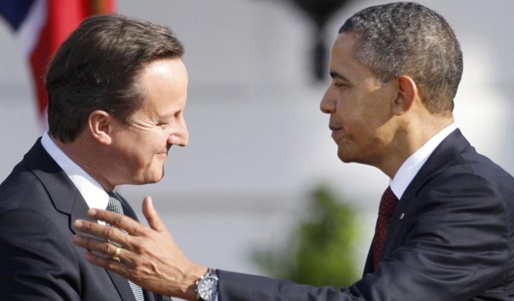 Пока Меркель смотрела футбол Обама с Кэмероном согласились, что Россия должна заплатить большую цену за конфликт в Украине
