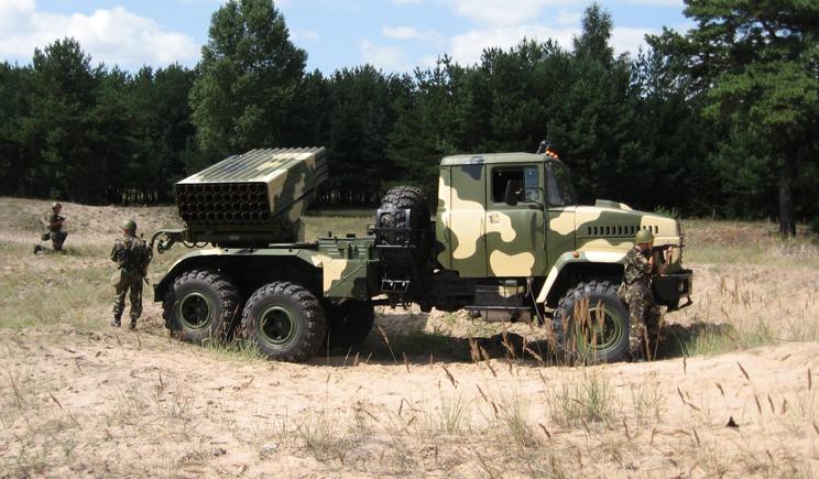 Украина начала модернизировать системы залпового огня «Град»