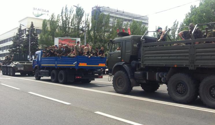 Террористы бегут назад в РФ, — очевидец