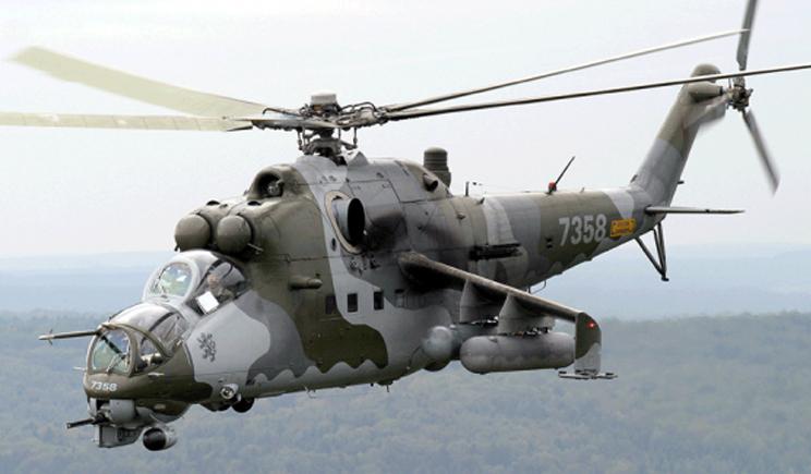 Российские вертолеты продолжают нарушать воздушное пространство Украины